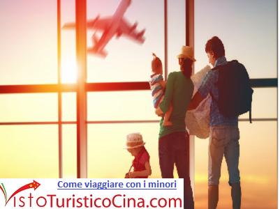 Documenti per viaggiare con i minori in Cina