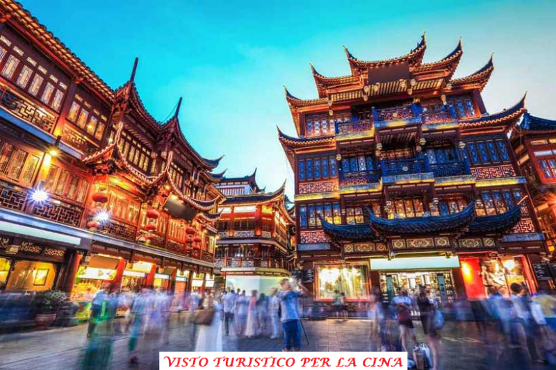 Visto turistico Cina
