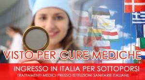 visto per cure italia