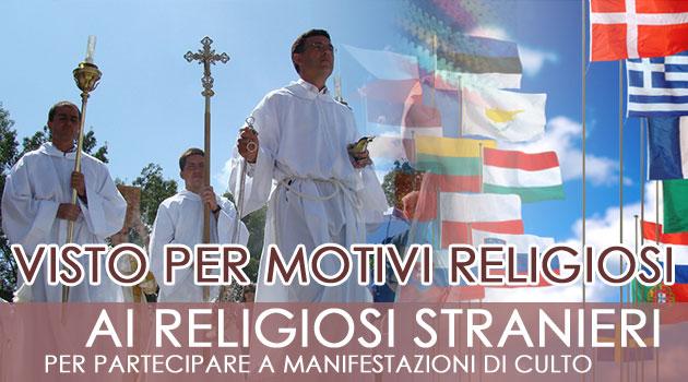 visto per religione