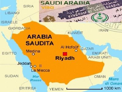 Visto per Arabia Saudita