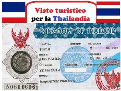 vistoturistico thailandia